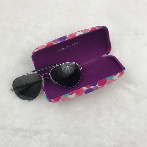 f304bc36720 Hard Candy Accessories - Hard Candy Case New Aviator Sunglasses Bundle
